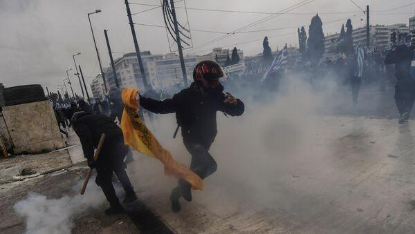 Yunanistan - eylemler - Sputnik Türkiye