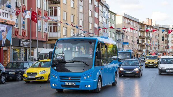 İstanbul minibüs - Sputnik Türkiye