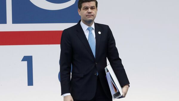 United States' Wess Mitchell, assistant secretary of State for European and Eurasian Affairs, arrives for the 25th Organization for Security and Co-operation in Europe, OSCE, ministerial council meeting, in Milan, Italy, Thursday, Dec. 6, 2018. - Sputnik Türkiye