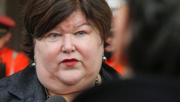 Belçika Sağlık Bakanı Maggie De Block - Sputnik Türkiye