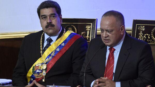 Nicolas Maduro - Diosdado Cabello - Sputnik Türkiye