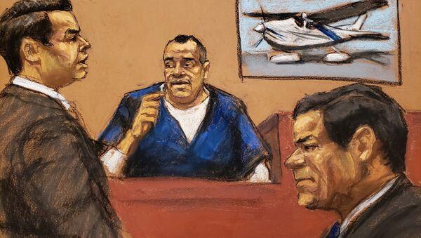 El Chapo'nun eski koruması - Isaias Valdez Rios - Sputnik Türkiye