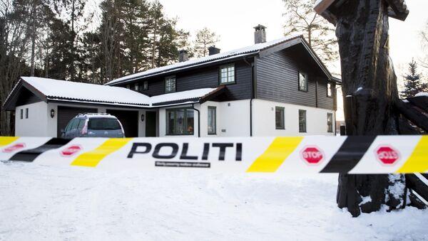 Anne-Elisabeth Falkevik Hagen ile Tom Hagen çiftinin Norveç'in başkenti Oslo'nun hemen dışındaki Lorenskog kentindeki evi - Sputnik Türkiye