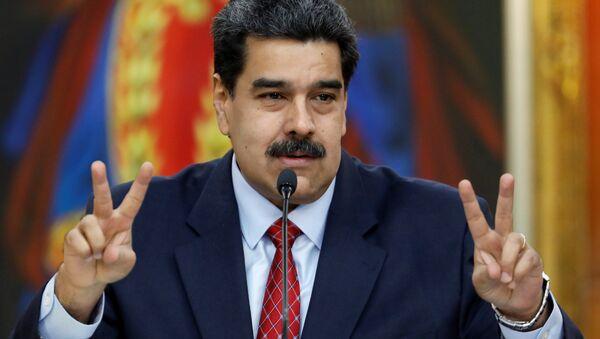 Venezüella lideri Nicolas Maduro - Sputnik Türkiye