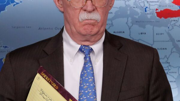 Beyaz Saray Ulusal Güvenlik Danışmanı John Bolton - Sputnik Türkiye
