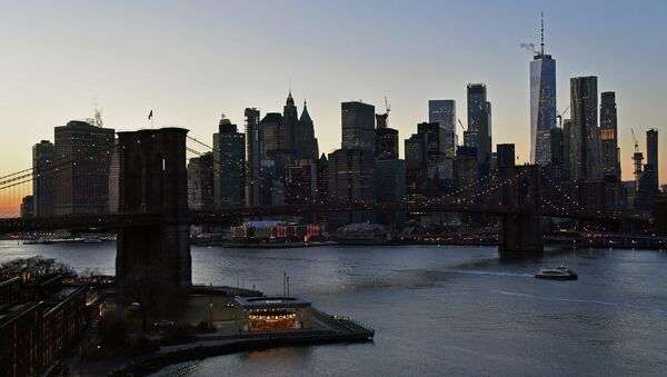 ABD'nin New York kentindeki Manhattan yarımadasından bir kare - Sputnik Türkiye