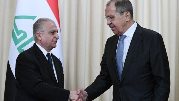 Irak Dışişleri Bakanı Muhammed Hakim ve Rusya Dışişleri Bakanı Sergey Lavrov - Sputnik Türkiye