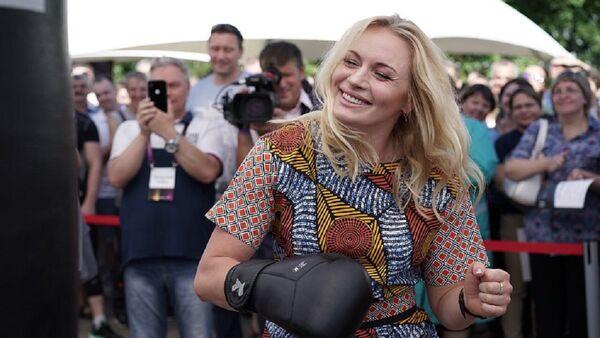 Rus boksör Svetlana Kulakova - Sputnik Türkiye