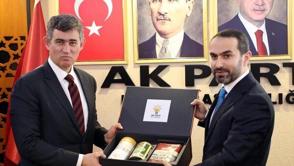 TBB Başkanı Metin Feyzioğlu - AK Parti Rize İl Başkanı İshak Alim - Sputnik Türkiye