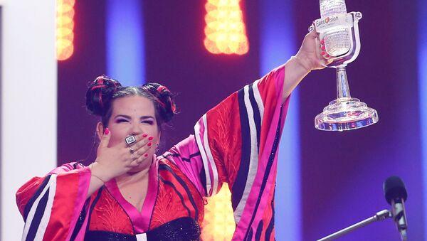 Eurovision 2018 yarışmasını kazanan İsrailli yarışmac Netta Barzilai - Sputnik Türkiye