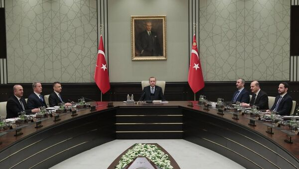 30 Ocak 2019 Milli Güvenlik Kurulu toplantısı - Sputnik Türkiye
