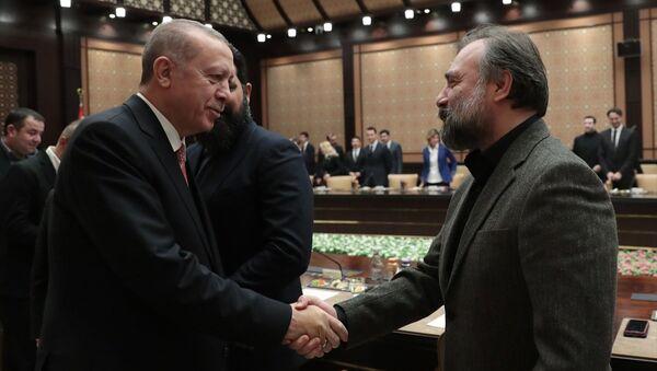 Recep Tayyip Erdoğan - Oktay Kaynarca - Sputnik Türkiye