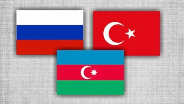 Rusya-Azerbaycan-Türkiye - Sputnik Türkiye