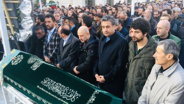 Yaşar Uçar - cenaze - Sputnik Türkiye