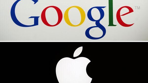 apple + google - Sputnik Türkiye