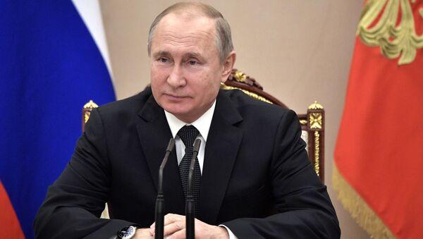 Rusya lideri Vladimir Putin - Sputnik Türkiye