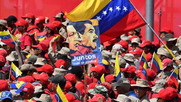 Venezüella'da Bolivarcı Devrim'in 20.yıldönümü - Sputnik Türkiye