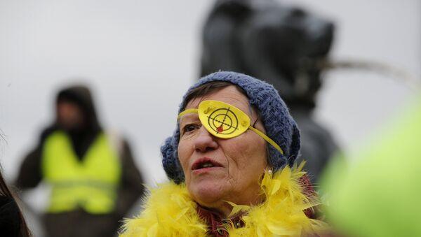 Sarı Yelekler 12. hafta - Sputnik Türkiye