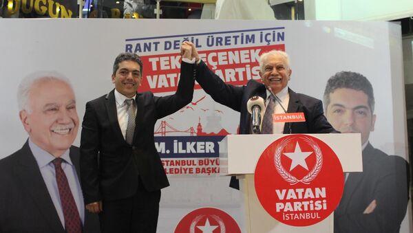 Doğu Perinçek - İlker Yücel - Sputnik Türkiye