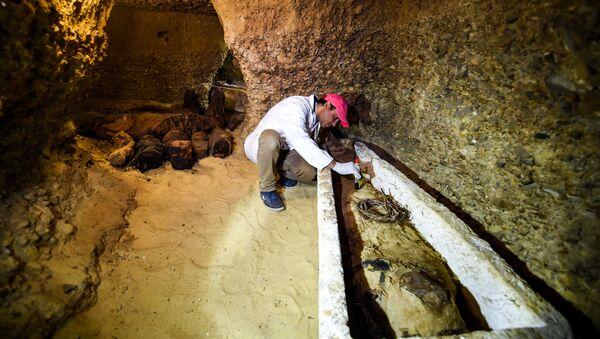 Mısır'da 40 mumya bulundu - Sputnik Türkiye