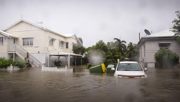 Avustralya Townsville'de yaşanan sel felaketi - Sputnik Türkiye