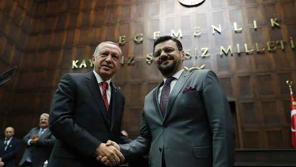 Tamer Akkal - Recep Tayyip Erdoğan - Sputnik Türkiye