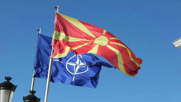 Makedonya - NATO - Sputnik Türkiye