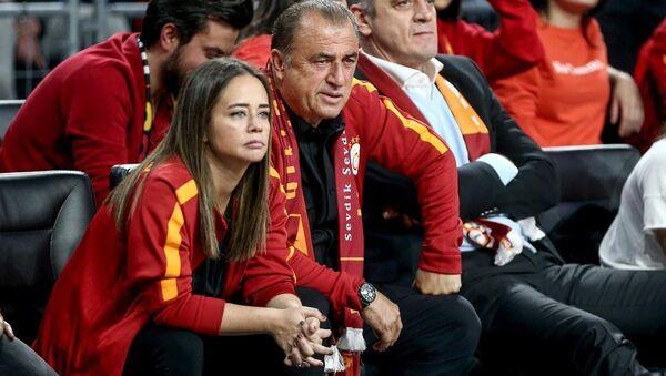 Fatih Terim - Merve Terim - Sputnik Türkiye
