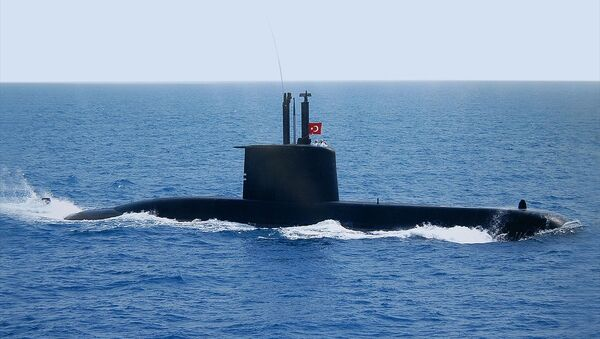 Preveze Sınıfı Türk Denizaltı - Sputnik Türkiye
