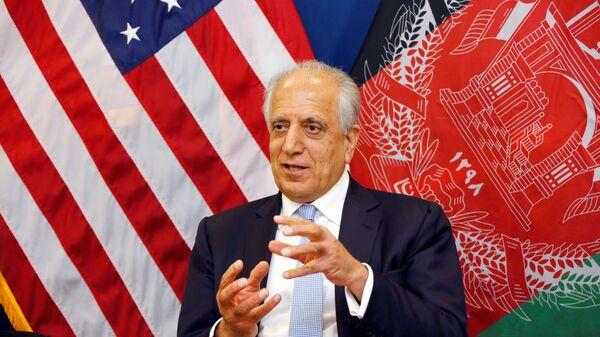 ABD'nin Afganistan Özel Temsilcisi Zalmay Halilzad - Sputnik Türkiye
