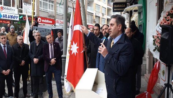 Osmanlı Ocakları Federasyonu Genel Başkanı Kadir Canpolat - Sputnik Türkiye