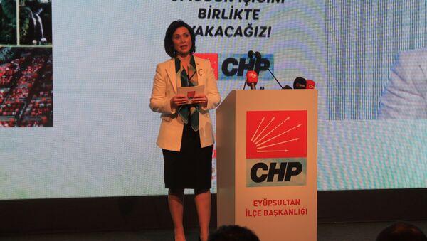 CHP'nin İstanbul'daki tek kadın adayı Emel Bilenoğlu - Sputnik Türkiye