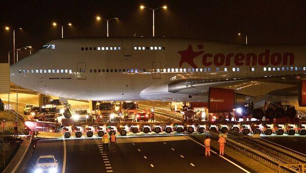 Türk iş adamı Atilay Uslu'nun sahibi olduğu Hollanda ve Benelüks ülkelerindeki en büyük otelin bahçesine konulacak Boeing 747 tipi uçak - Sputnik Türkiye