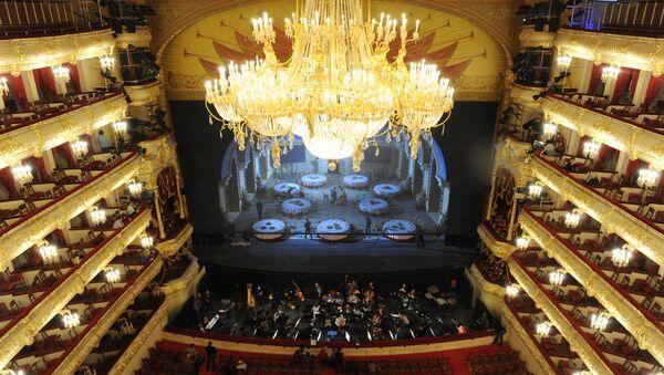 Run-through of Ruslan and Lyudmila opera at the Bolshoi Theater in Moscow - Sputnik Türkiye