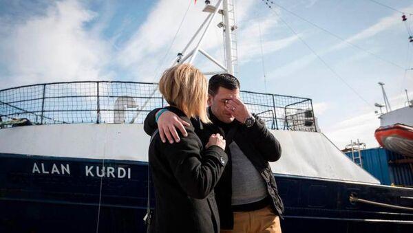 Alan Kurdi'nin babası Abdullah Kurdi - Sputnik Türkiye