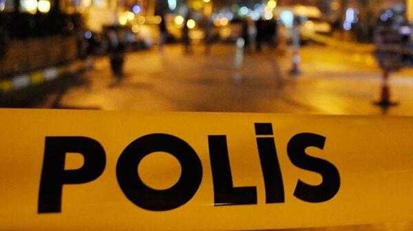 polis - olay yeri girilmez - Sputnik Türkiye