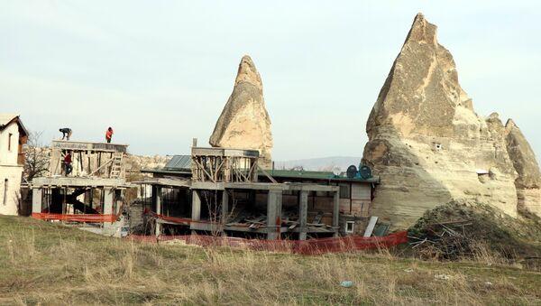 Peribacaları - inşaat - Sputnik Türkiye