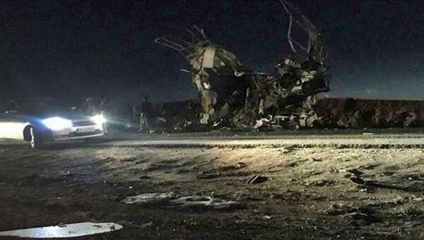 İran Devrim Muhafızlarına intihar saldırısı: En az 20 ölü, 20 yaralı - Sputnik Türkiye
