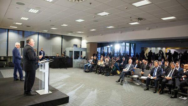 Polonya'daki 'Ortadoğu Zirvesi'nden çalışma grubu oluşturulması kararı çıktı - Sputnik Türkiye