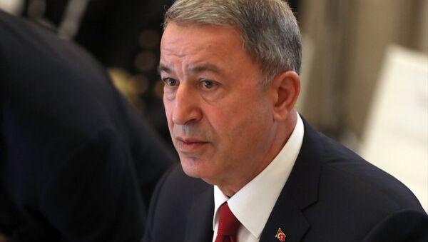 Milli Savunma Bakanı Hulusi Akar - Sputnik Türkiye