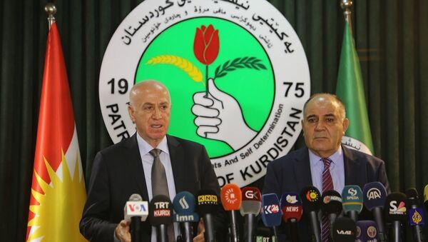 Irak'ta KDP ile KYB arasında anlaşma sağlandı - Sputnik Türkiye