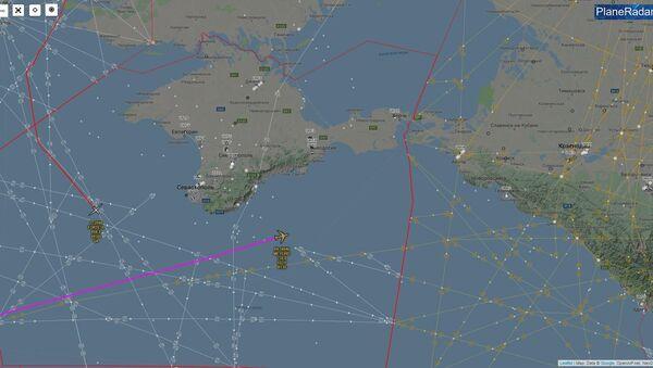 Rusya'nın Kırım ve Kaliningrad bölgeleri yakınlarında 3 keşif uçağının gözlemlendiği belirtildi. - Sputnik Türkiye