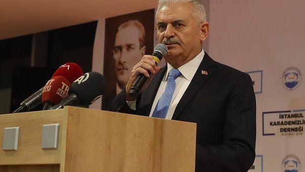TBMM Başkanı ve AK Parti İstanbul Büyükşehir Belediye Başkan Adayı Binali Yıldırım - Sputnik Türkiye