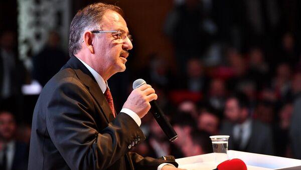 AK Parti Genel Başkan Yardımcısı ve Ankara Büyükşehir Belediye Başkan Adayı Mehmet Özhaseki - Sputnik Türkiye