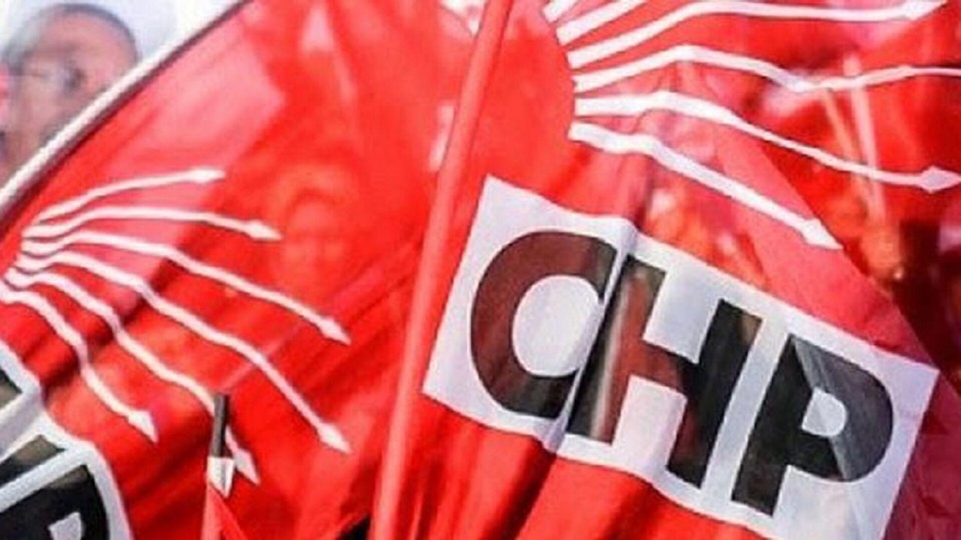 CHP, bayrak, logo - Sputnik Türkiye, 1920, 30.07.2021