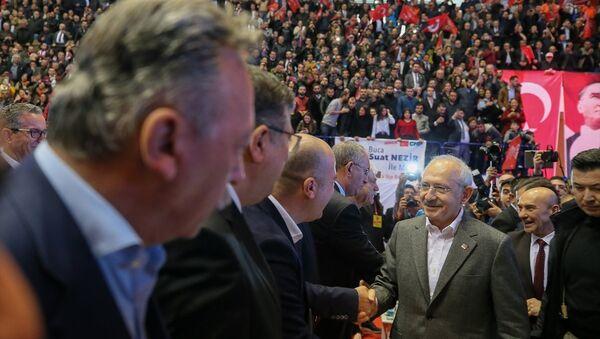 CHP İzmir aday toplantısı, Kemal Kılıçdaroğlu - Sputnik Türkiye