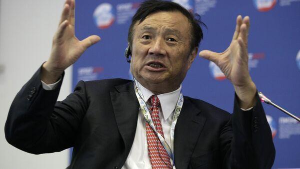 Huawei'nin kurucusu ve patronu Ren Zhengfei - Sputnik Türkiye