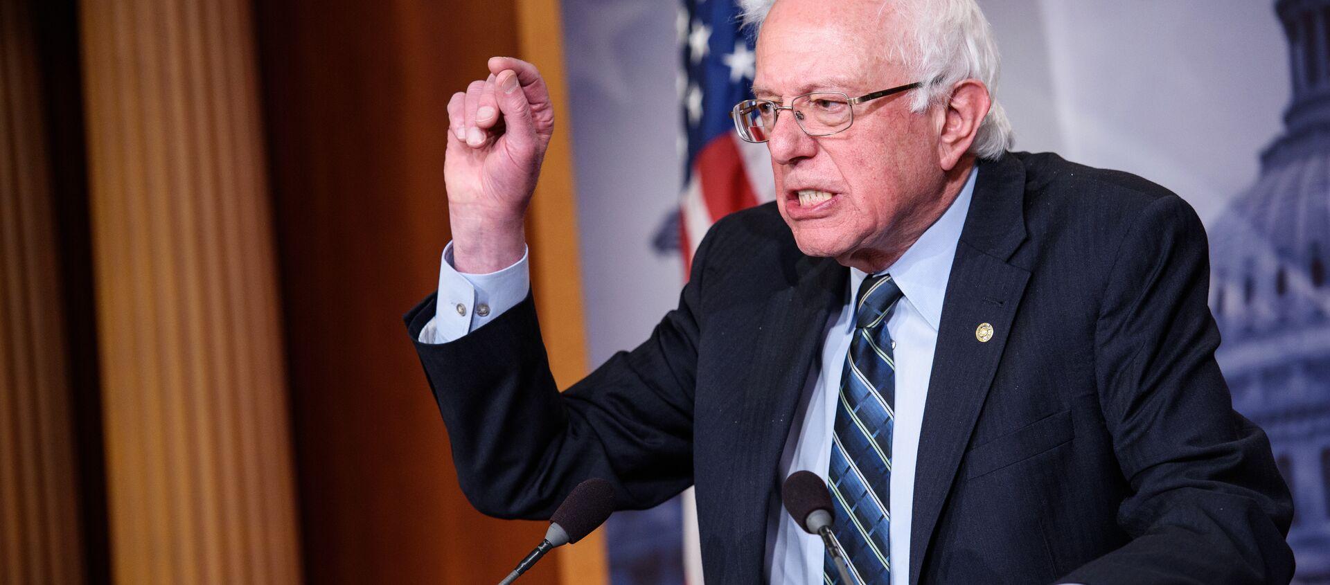 Bernie Sanders - Sputnik Türkiye, 1920, 03.05.2021