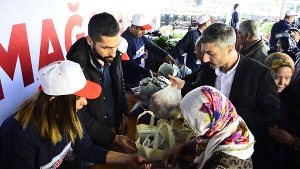 Adana'da açılan tanzim satış mağazası - Sputnik Türkiye