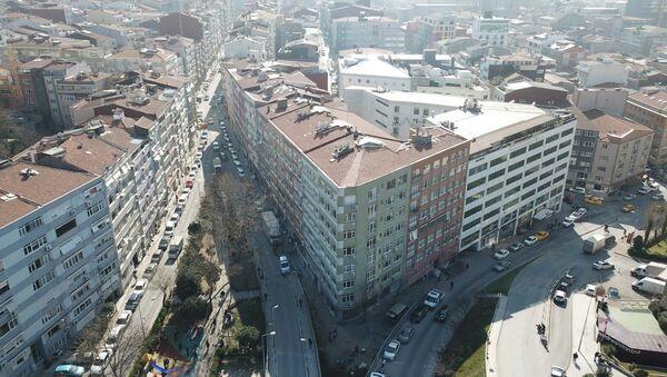 Şişli'de 4 bina mühürlenerek boşaltıldı - Sputnik Türkiye